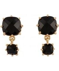 Les Néréides La diamantine - Boucles d'oreilles - noir