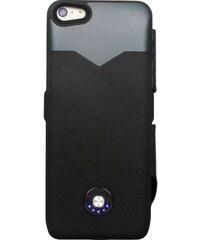 The Kase Coque batterie à clapet pour iPhone 5 et 5S et 5C 2400 maH - noir