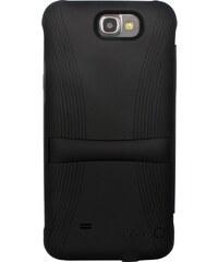 The Kase Coque batterie à clapet 2400 mah pour Samsung Galaxy Note 2 - noir
