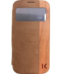 The Kase Coque pour Samsung S4 - marron