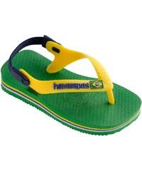 Havaianas Baby Brasil Logo - Flipflops - grün