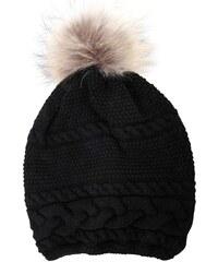 Inverni Bonnet en laine et en cachemire - noir