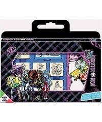 Multiprint Valisette 7 tampons monster high - Loisirs créatifs - multicolore