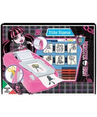 Multiprint Monster High - Machine à stickers + tampon - multicolore