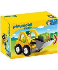 Playmobil 123 - Chargeur et ouvrier - multicolore