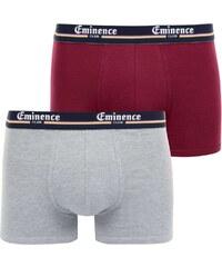 Eminence Duo Club - Lot de 2 boxers - bicolore