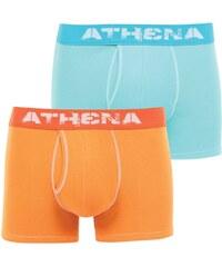 Athena Denim - Lot de 2 boxers - bicolore