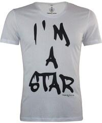 Majesté Couture Paris Star Coton - Tee Shirt - blanc