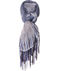 Monsieur Charli Portland - Echarpe en lin mélangé - gris