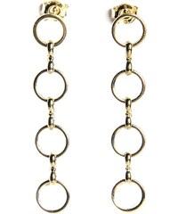 Fabien Ajzenberg Paris 4 - Boucles d'oreilles en plaqué or - or