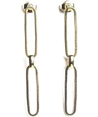 Fabien Ajzenberg Paris 2 - Boucles d'oreilles en plaqué or - or