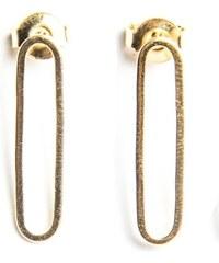 Fabien Ajzenberg Paris 1 - Boucles d'oreilles en plaqué or - or