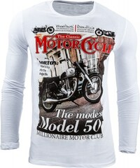 Pánské tričko Motor bílé - bílá