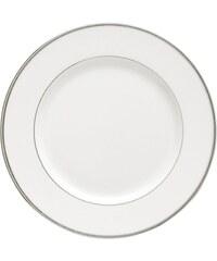 Guy Degrenne Galon platine - Lot de 3 assiettes desserts - blanc