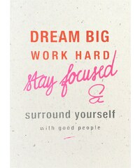 The Cool Company Dream Big - Poster - corail