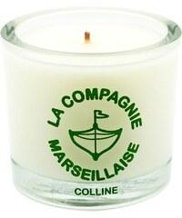La Compagnie Marseillaise Colline - Bougie parfumée - vert foncé