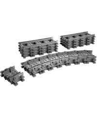 LEGO City - Rails flexible - multicolore
