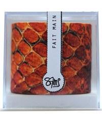 Maison Sams Bracelet en soie - cuivré