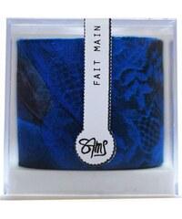 Maison Sams Bracelet en soie - bleu