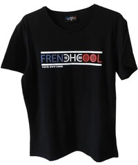 Frenchcool Frenchcool Authentic - T-shirt en coton col rond - noir