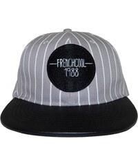 Frenchcool Snapback Baseball - Casquette en coton logo Frenchcool - gris