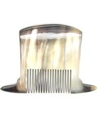 L'Artisan Créateur Peigne chapeau haut de forme- corne foncée - multicolore