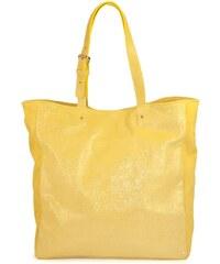 C Oui Vincennes 5 - Cabas en cuir - jaune
