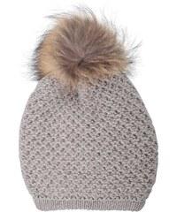 Inverni Bonnet en laine et en cachemire - marron