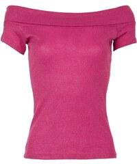 Morgan T-shirt - fuchsia