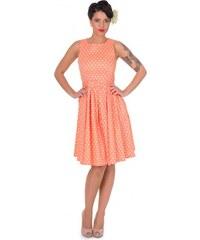 LOLA puntíkované šaty na ples i na piknik - 50.léta