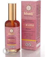 Khadi pleťový a tělový olej RŮŽOVÝ LOTOS pro smíšenou či problémovou pleť 100ml