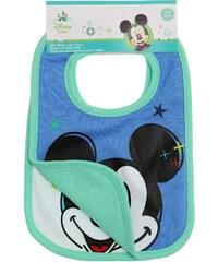 Disney Mickey 2 er Pack Lätzchen grün in Größe UNI für Jungen aus 100% Baumwolle