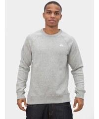 Nike SB Icon Crew Fleece Grey Heather White