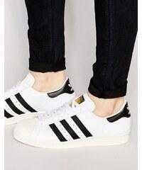 Adidas Originals - Superstar 80's G61070 - Baskets - Blanc