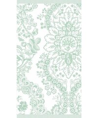 Handtücher Studio Lacy dutch mit Blüten PIP STUDIO grün 2xHandtücher 50x100 cm