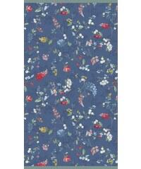 PIP STUDIO Strandtuch Studio Hummingbirds mit Blütenranken blau 1xStrandtuch 100x180 cm
