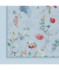 PIP STUDIO Tagesdecke Studio Hummingbirds mit Motiven blau 220x265 cm