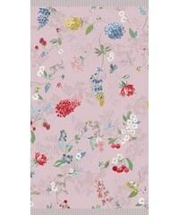 PIP STUDIO Badetuch Studio Hummingbirds mit Blütenranken rosa 1xBadetuch 70x140 cm