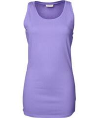 Dámský prodloužený top Stretch - Světle fialová XS