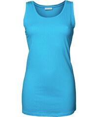 Dámský prodloužený top Stretch - Tyrkysově modrá XS