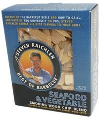 Směs udících lupínků Ryby a zelenina STEVEN RAICHLEN SR8045