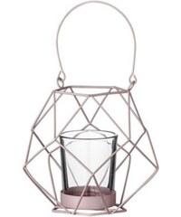 Bloomingville Windlicht/Kerzenständer - rosa
