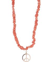 Cecil 2-in-1 Langkette mit Steinen - rose beryl, Herren