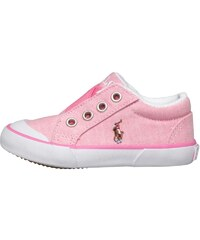 Ralph Lauren Girls Graggner Casual Slip On Trainers Pink Oxford/Multi