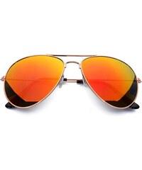 Pánské dámské sluneční brýle pilotky Born86 BN0355
