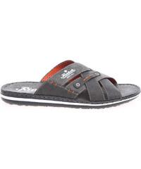 Rieker pánské pantofle 21099-45 šedé