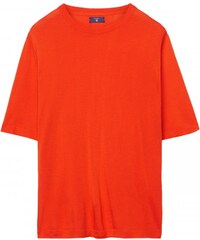 GANT T-shirt En Soie - Rusty Orange