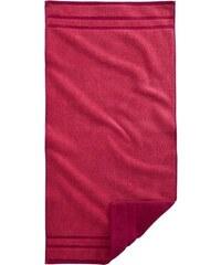 Handtücher Double mit Wendeoptik Egeria rot 2xHandtücher 50x100 cm