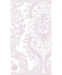 Badetuch Studio Lacy dutch mit Blüten PIP STUDIO rosa 1xBadetuch 70x140 cm