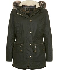 Barbour Winterjacke olive/classic